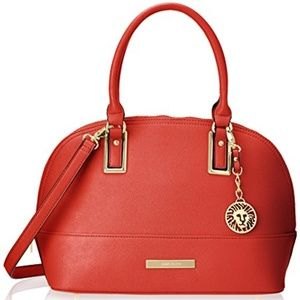 Anne Klein - Shimmer Down Dome Satchel Bag
